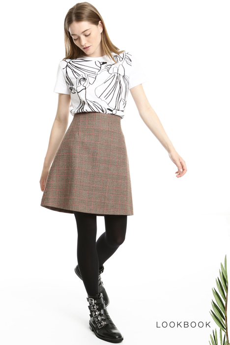 Virgin wool skirt Intrend