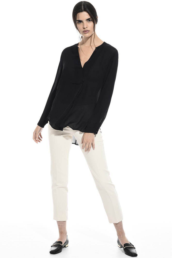 Pure viscose blouse Intrend