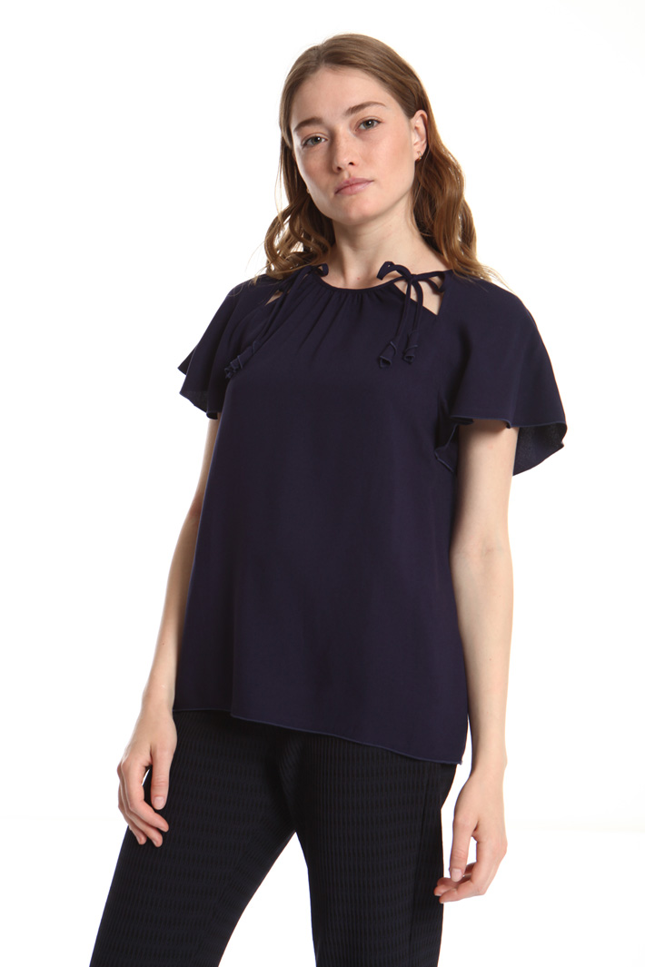 Viscose crepe top Intrend