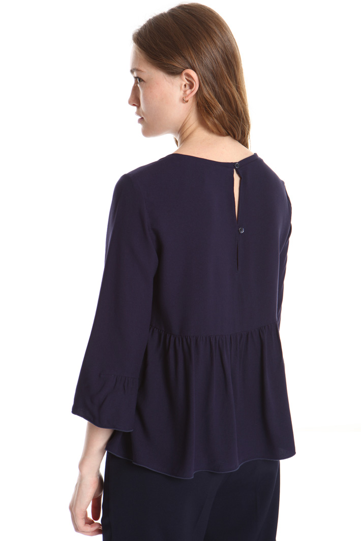Blusa fluida in viscosa Intrend