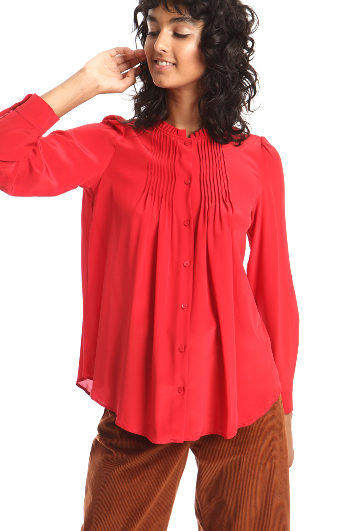 Pleated shirt Intrend