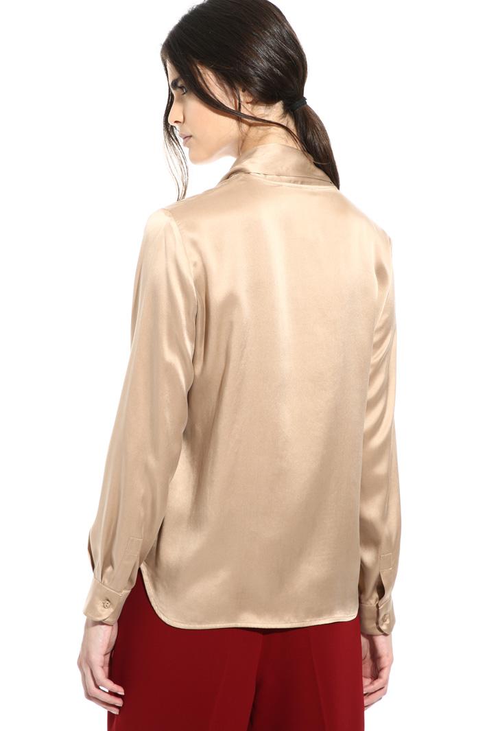 Silk satin blouse Intrend