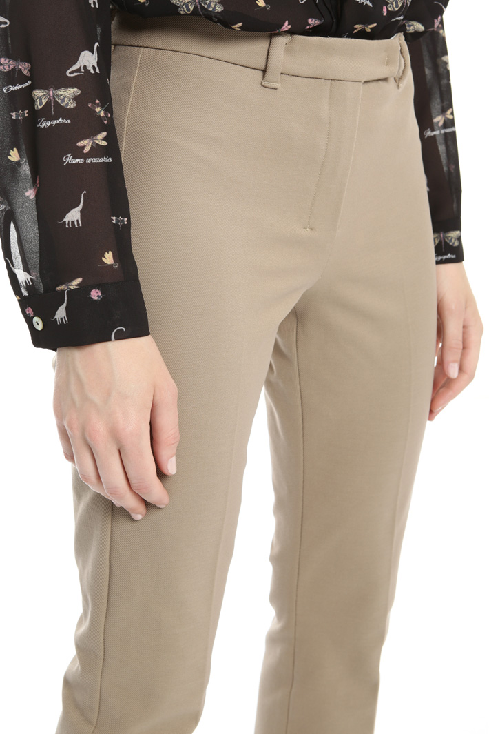 Cotton drill trousers Intrend