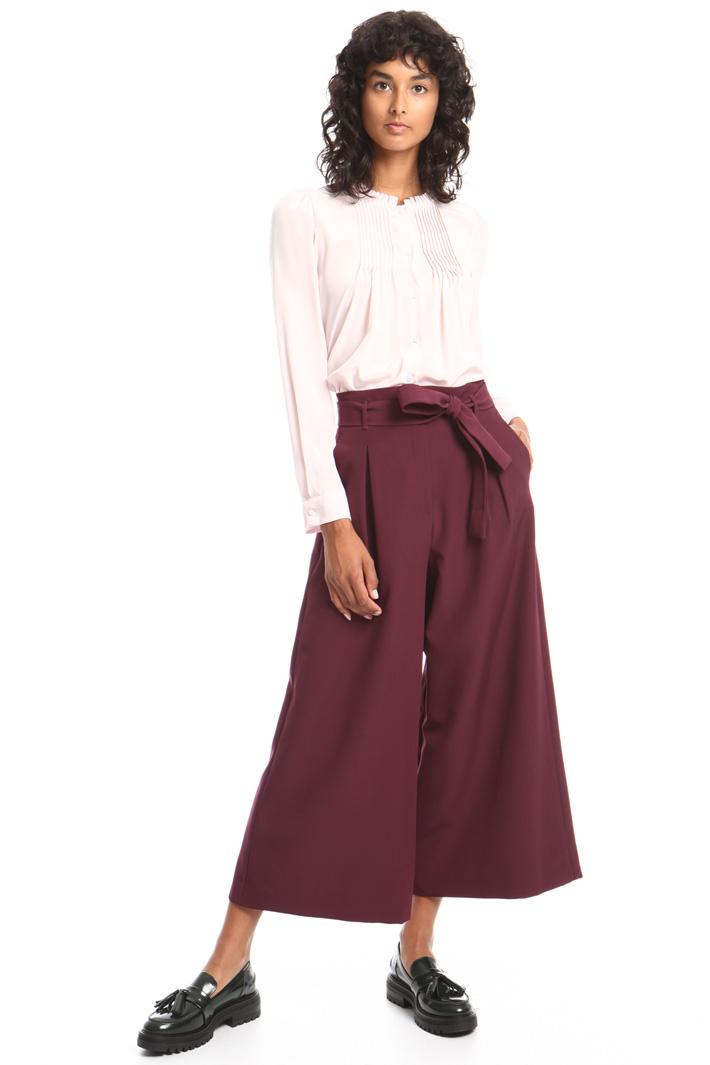 Pantalone ampio con cintura Intrend