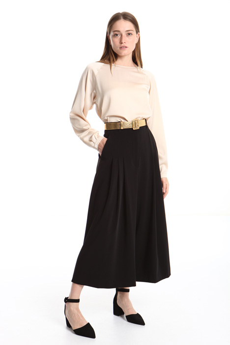 Wide leg fluid trousers Intrend