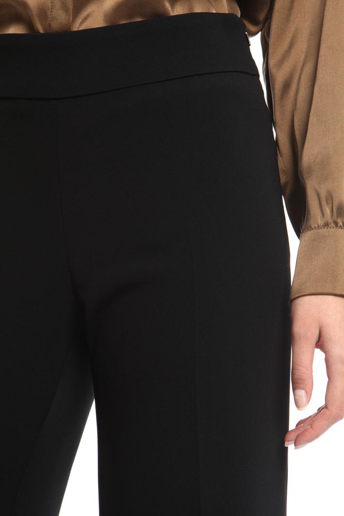 Fluid triacetate trousers Intrend
