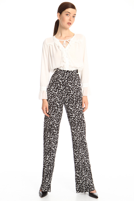 Soft viscose trousers Intrend