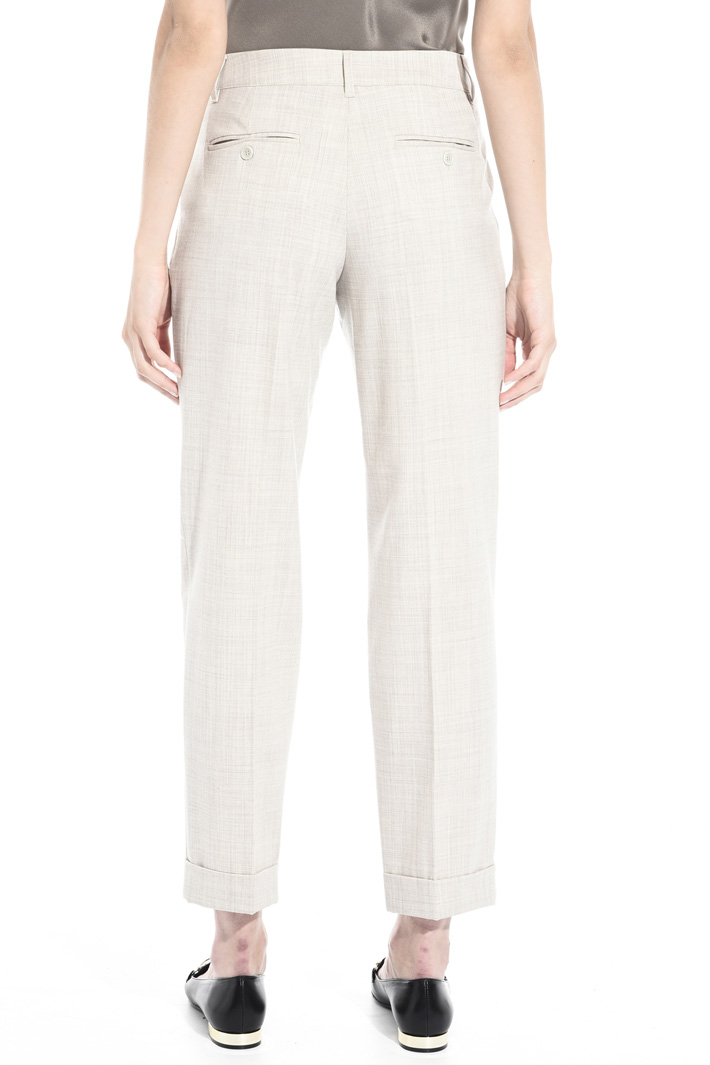 Light wool trousers Intrend