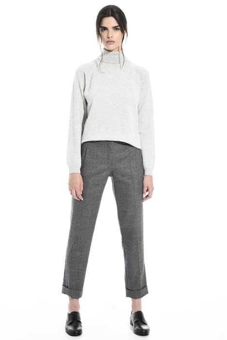 Regular wool trousers Intrend