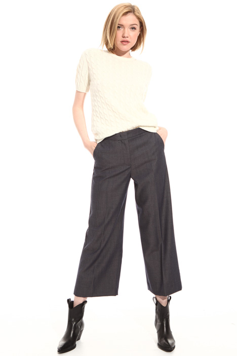 Wool cropped trousers Intrend