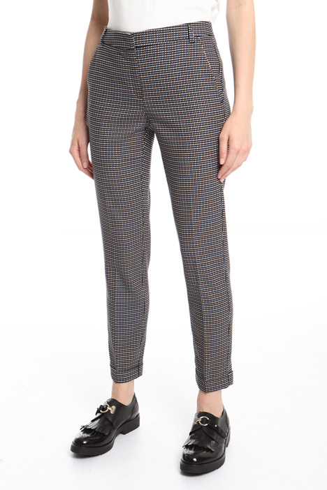 Long jacquard trousers Intrend
