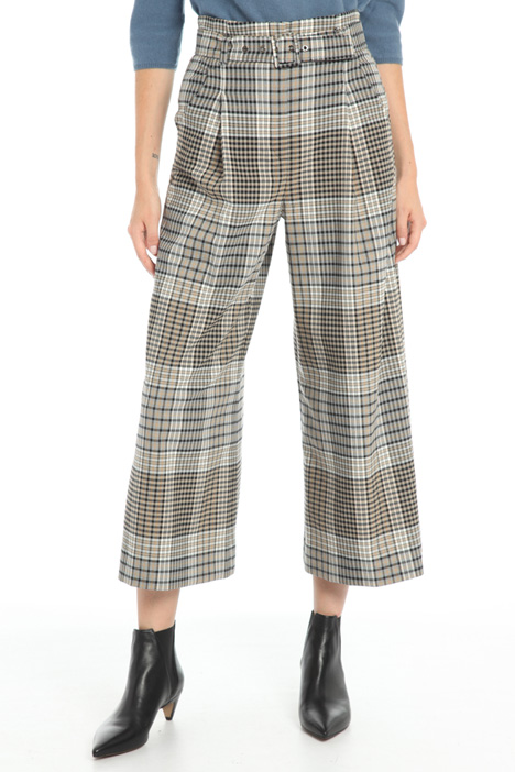 Wide leg wool trousers Intrend