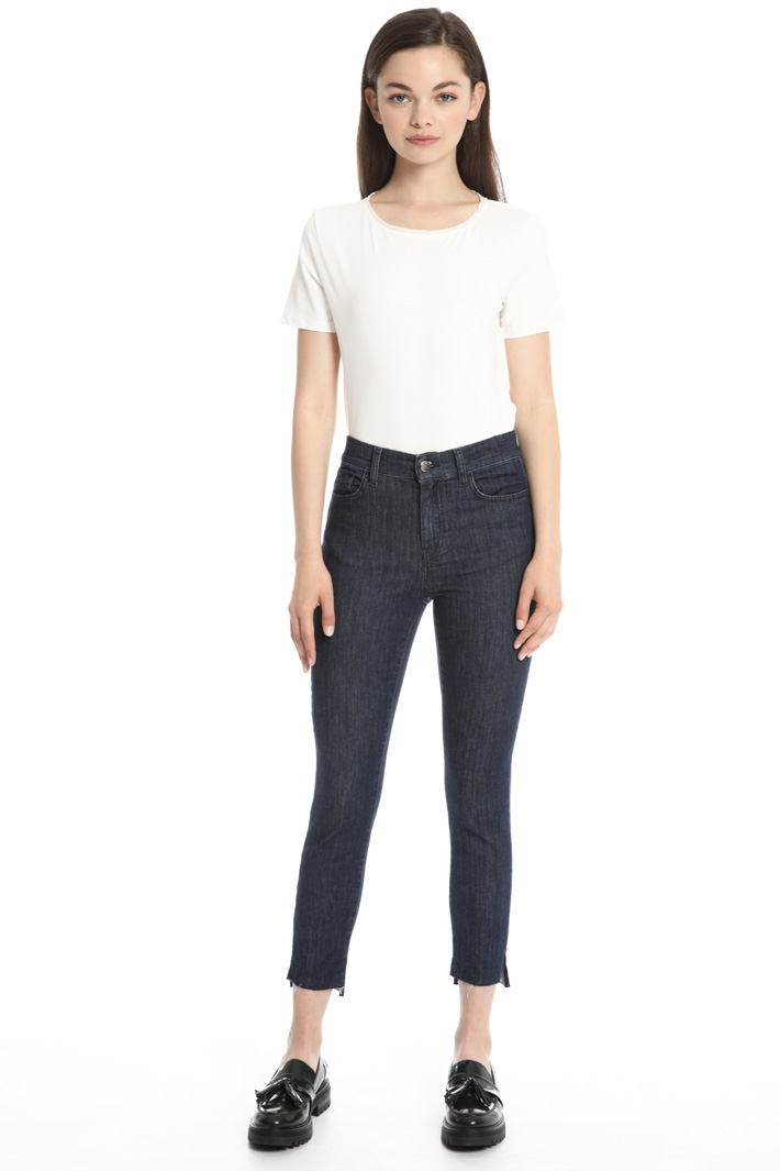 Slim fit cropped jeans Intrend
