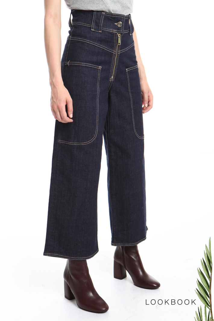 Cropped jeans Intrend
