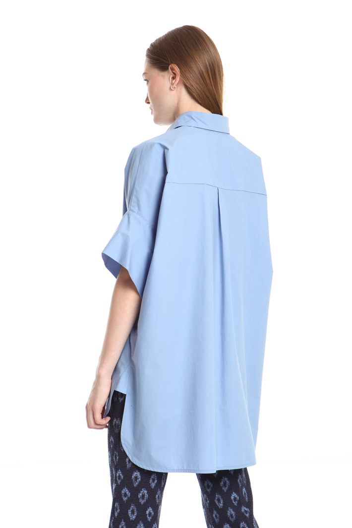 Asymmetrical cotton tunic Intrend