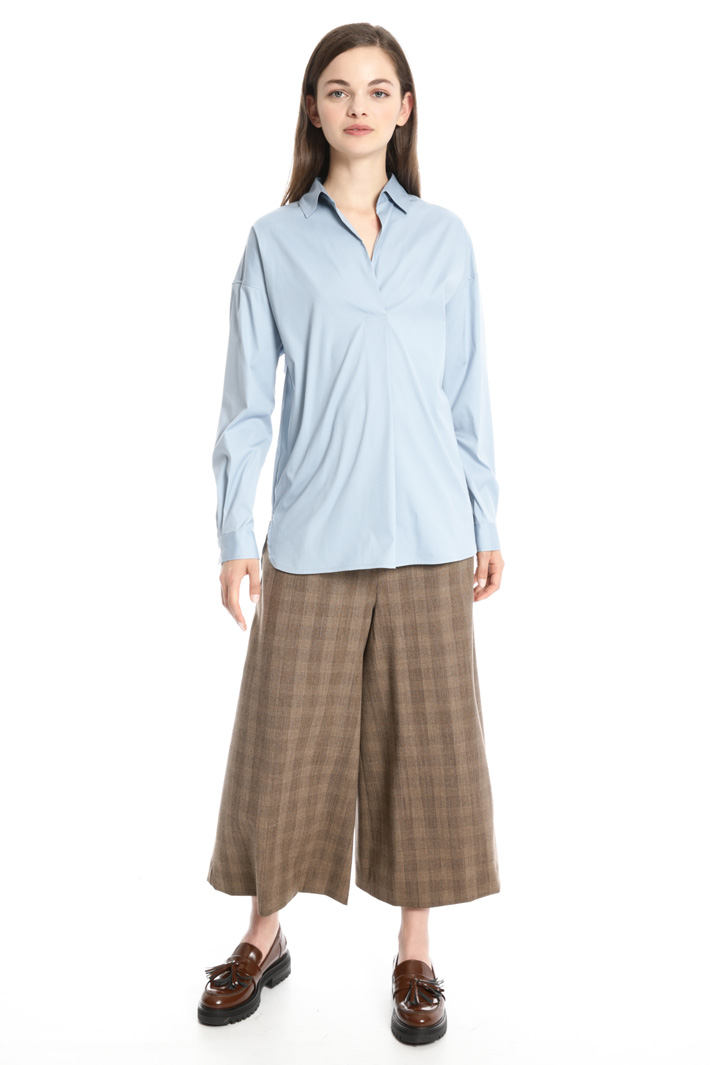 Cotton popli shirt Intrend