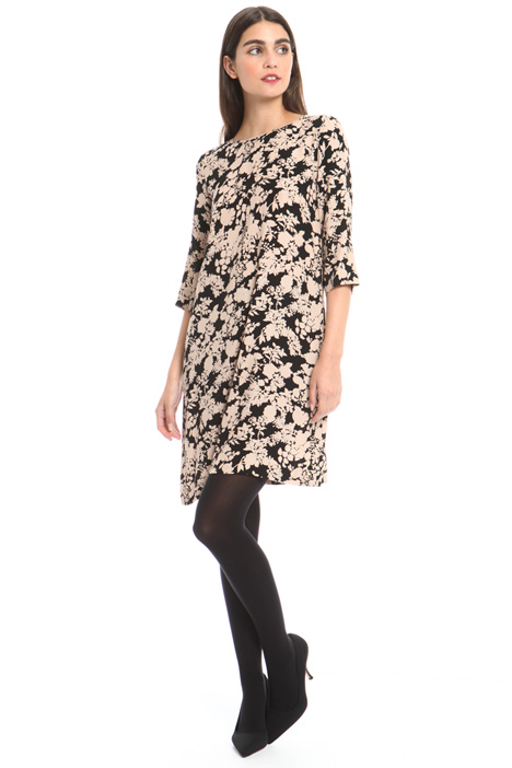 Printed viscose dress Intrend