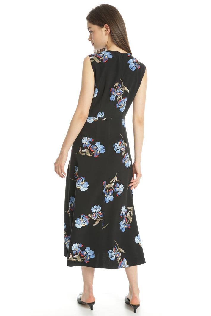 Printed midi dress Intrend