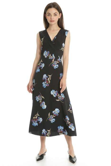 Printed midi dress Intrend