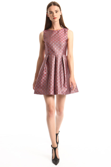 Lurex jacquard dress Intrend