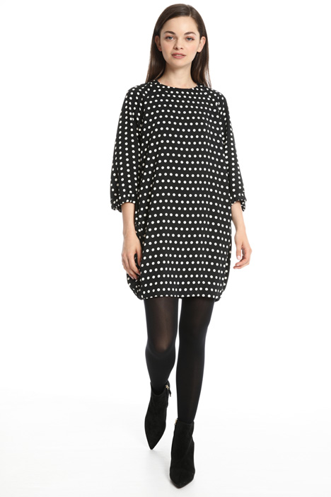 Printed egg-shaped dress Intrend