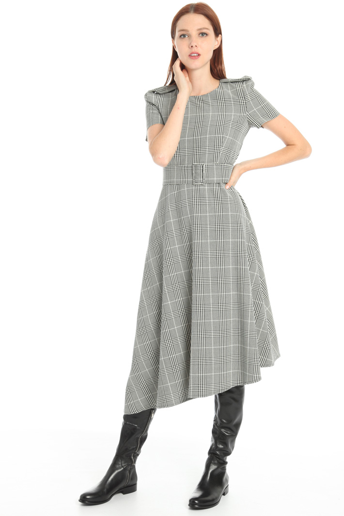 Asymmetrical midi dress Intrend