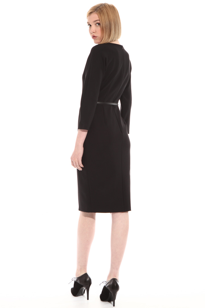 Pure wool tube dress Intrend