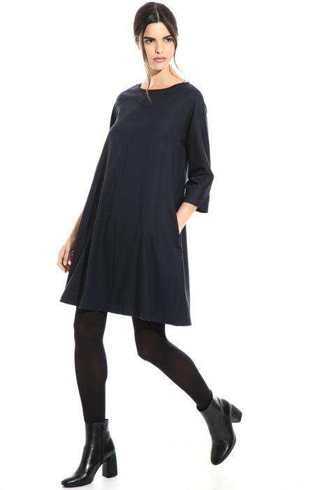 Short pure wool dress Intrend