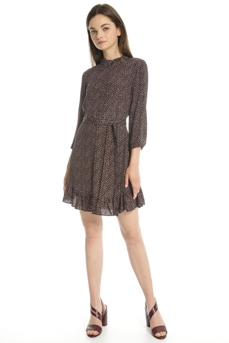 Fluid jacquard dress Intrend