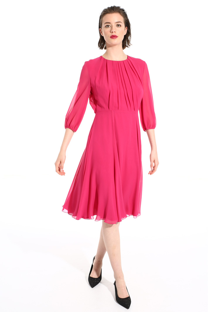 Pure silk midi dress Intrend