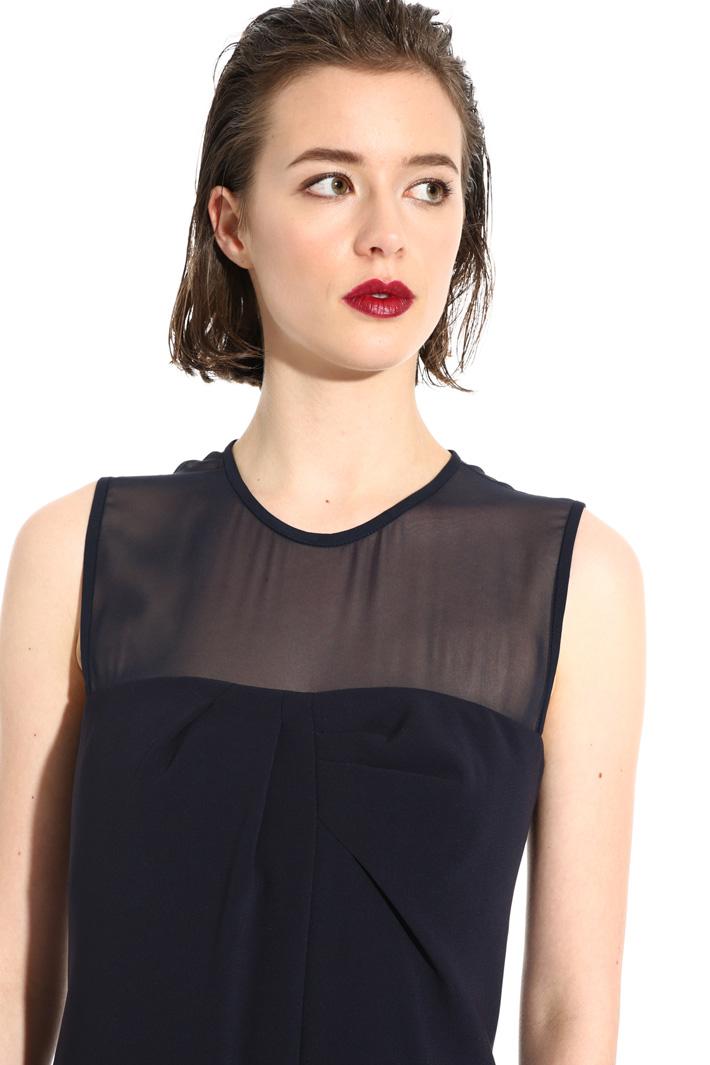 Silk and triacetate dress Intrend