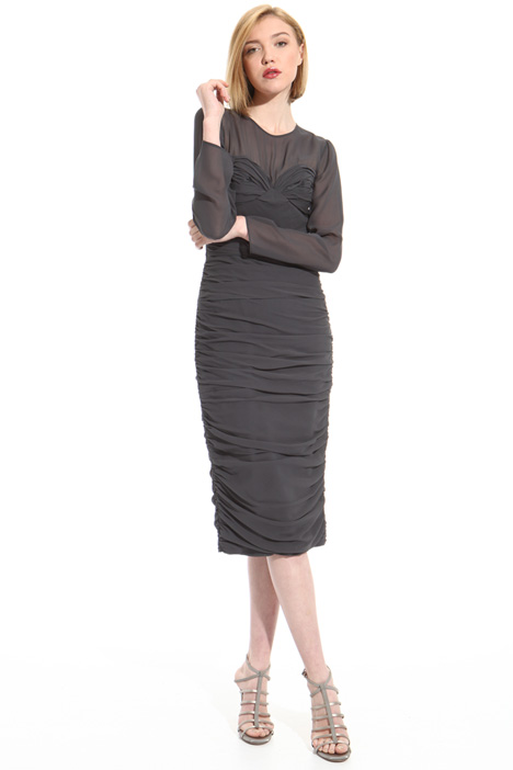 Pure silk tube dress Intrend