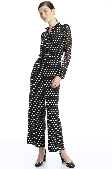 Jumpsuit in crepe fabric Intrend