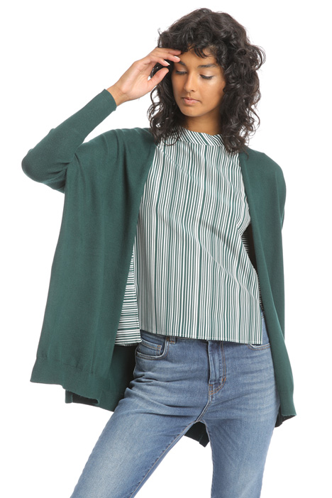 Oversized viscose cardigan Intrend