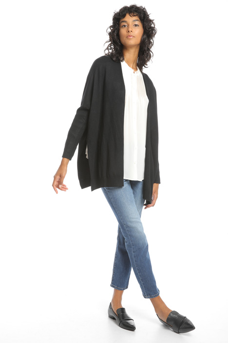 Cardigan oversize in viscosa Intrend