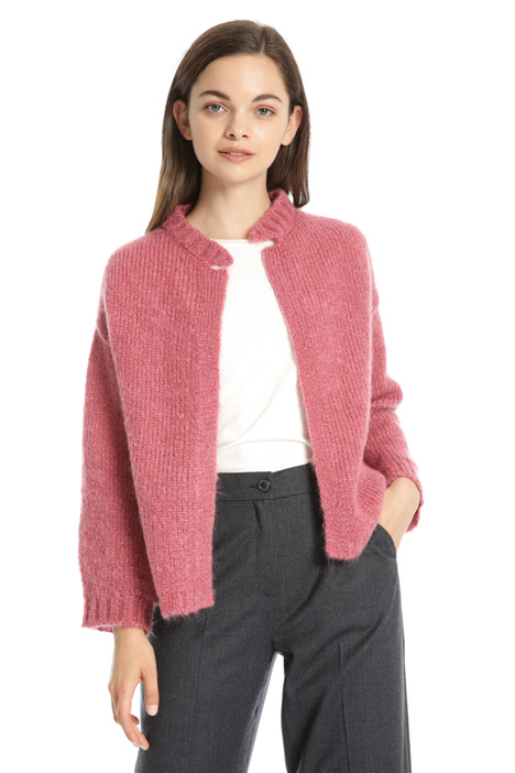 Cardigan in lana mohair Intrend