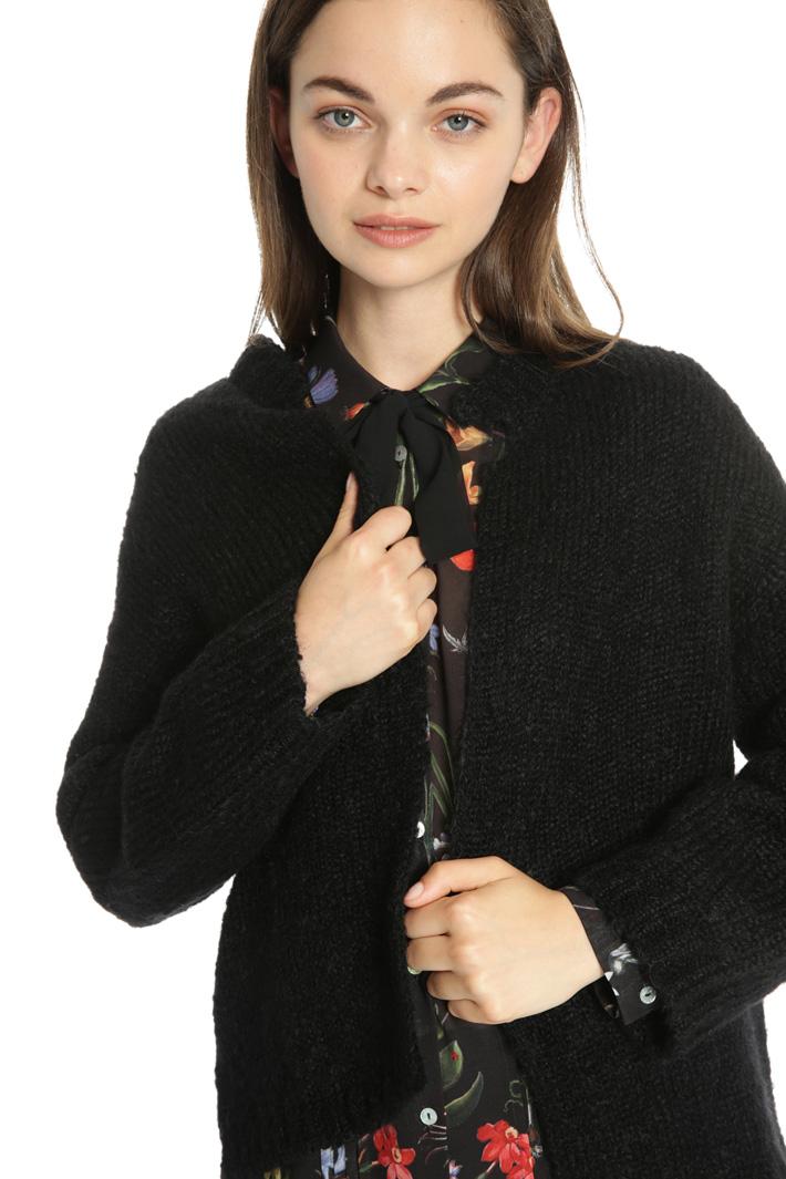 Mohair wool cardigan Intrend
