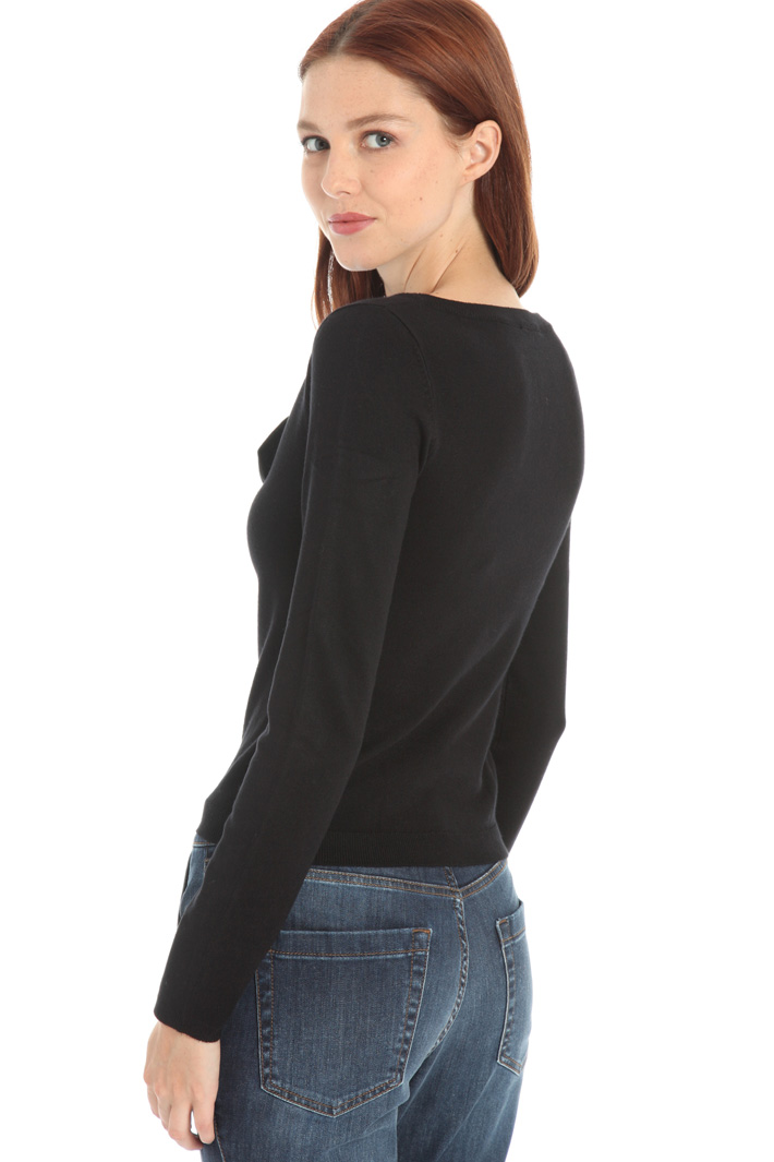 Bow-tie sweater Intrend