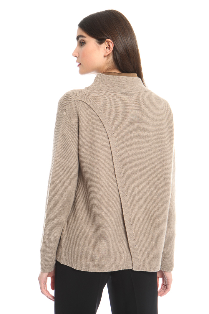 Overlay panel sweater Intrend