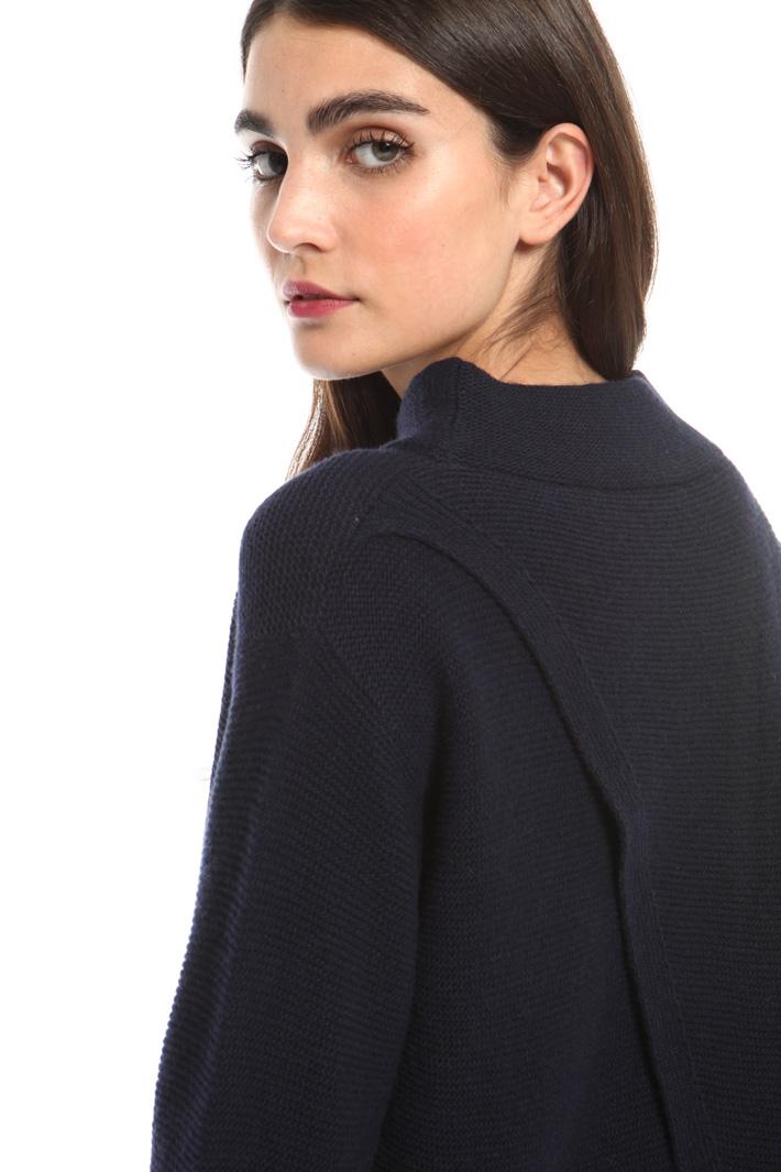 Overlay panel sweater Intrend
