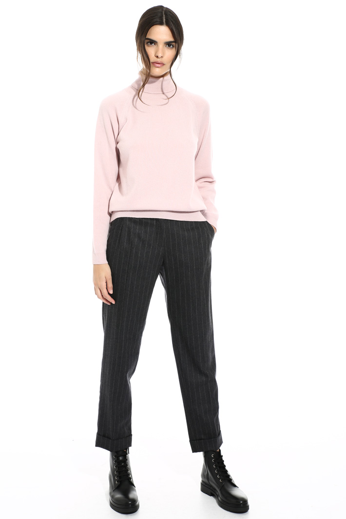 Wool turtleneck sweater Intrend