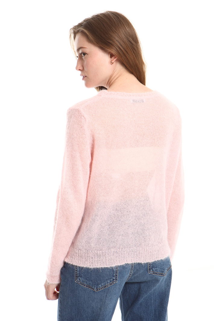 Alpaca and mohair sweater Intrend