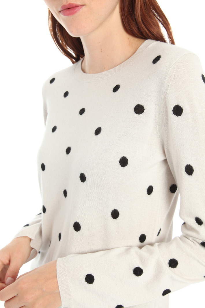 Silk and cashmere sweater Intrend