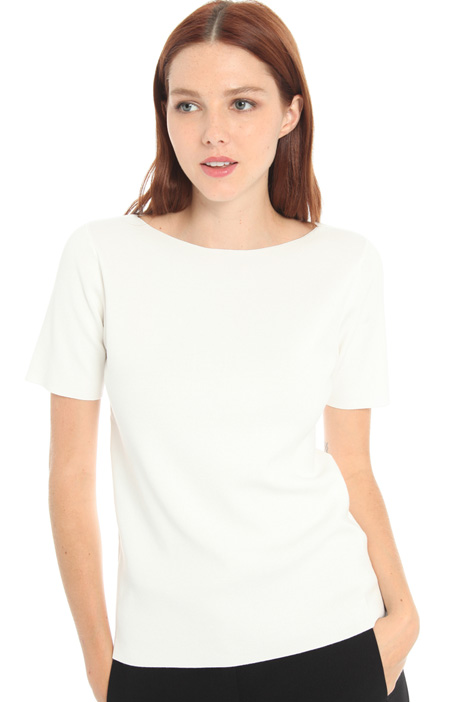 Pure viscose T-shirt Intrend