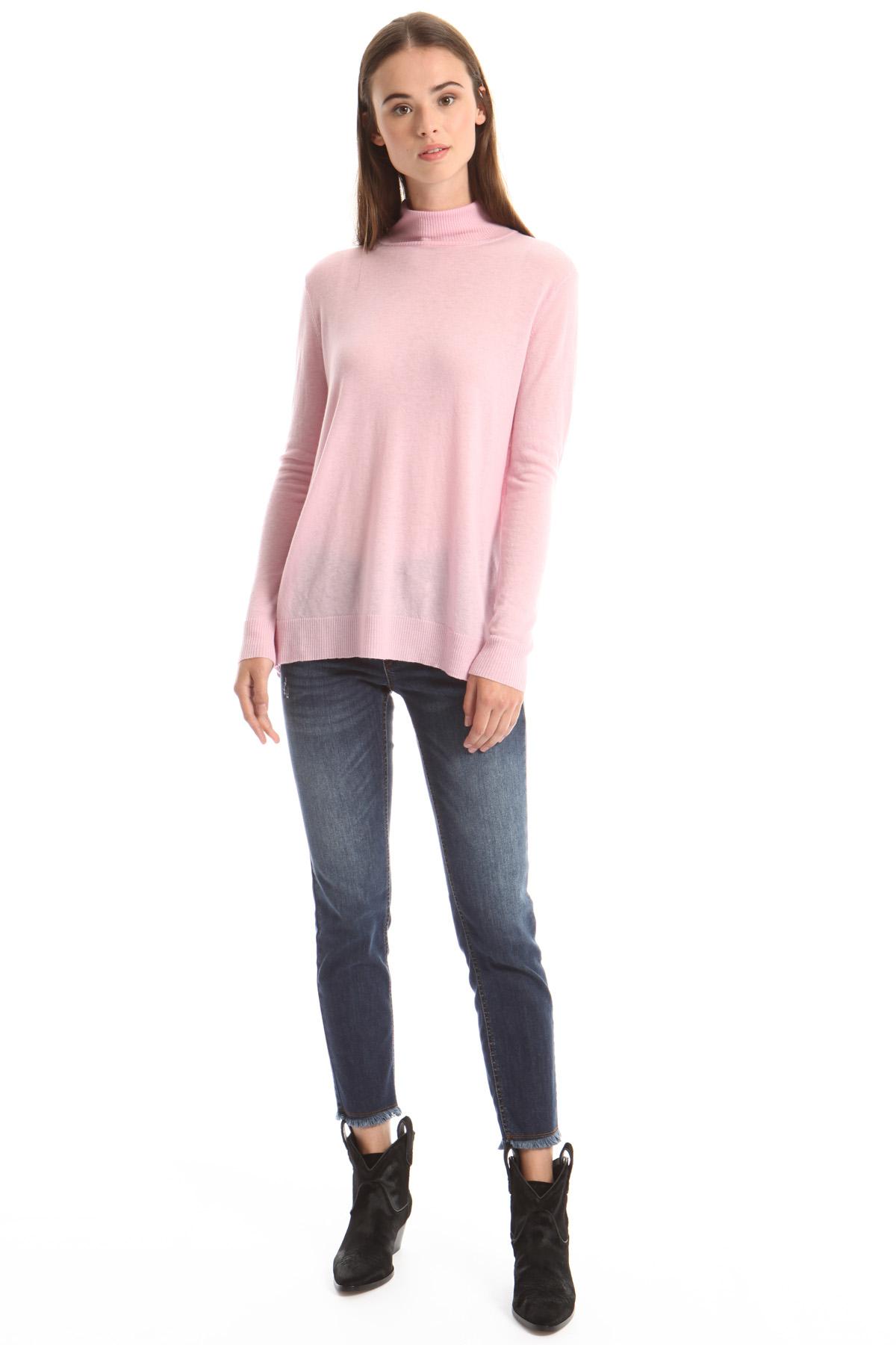 Deborah maglia 100% cashmere rosa