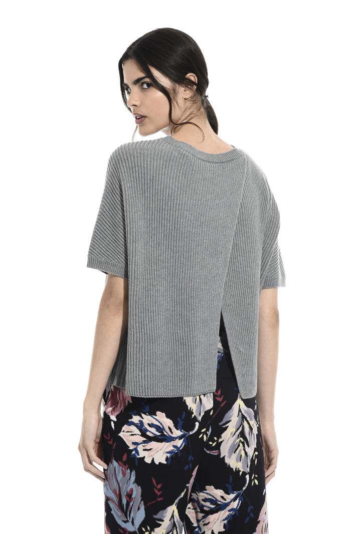 Cotton and wol sweater Intrend