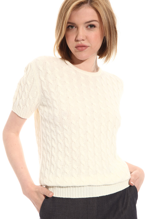 Wool and cashmere top Intrend