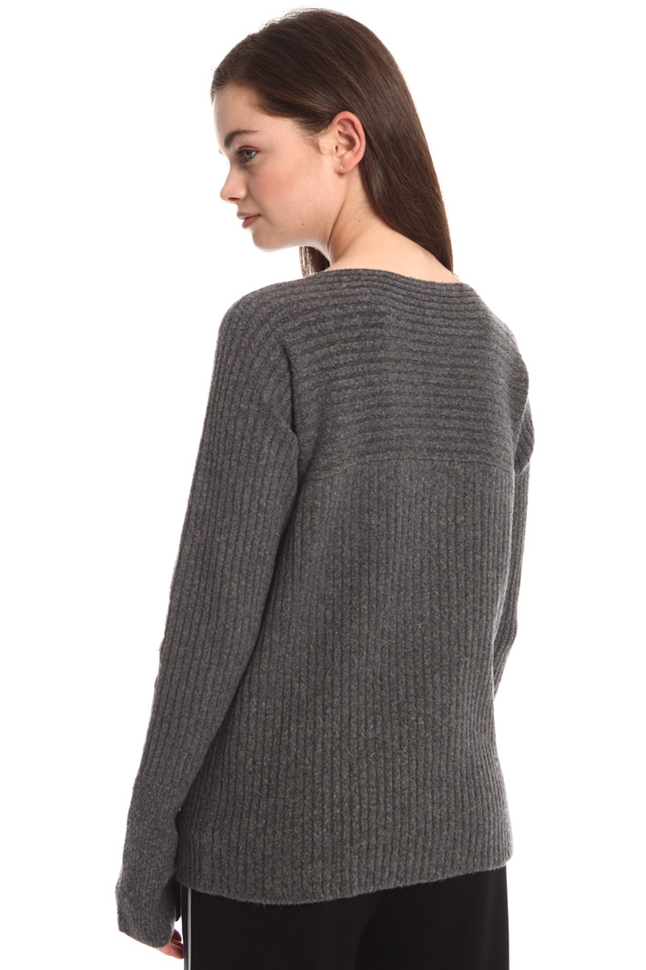 Ribbed wool blend sweater Intrend