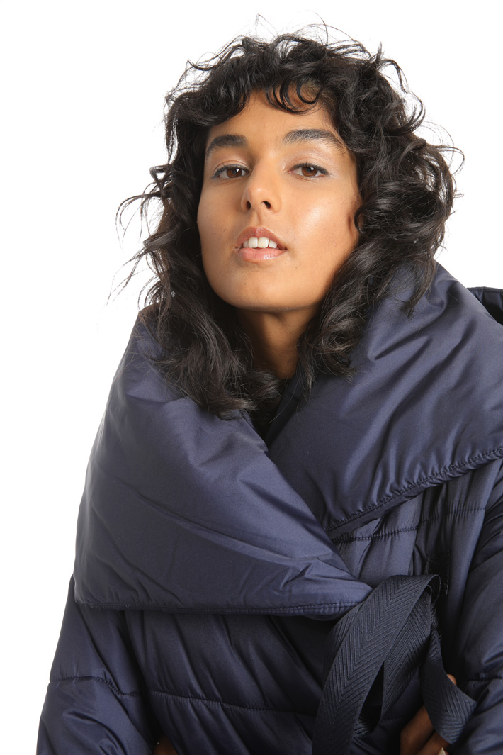 High neck padded coat  Intrend