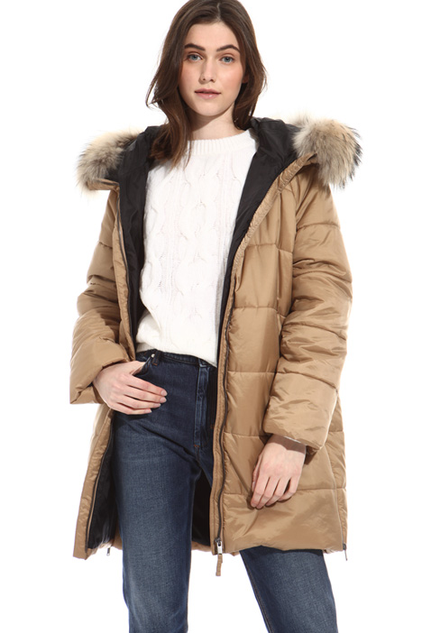 Hooded puffer coat Intrend